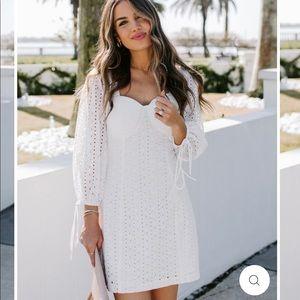 VICI eyelet dress